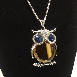 Beautiful BOHO Owl Pendant